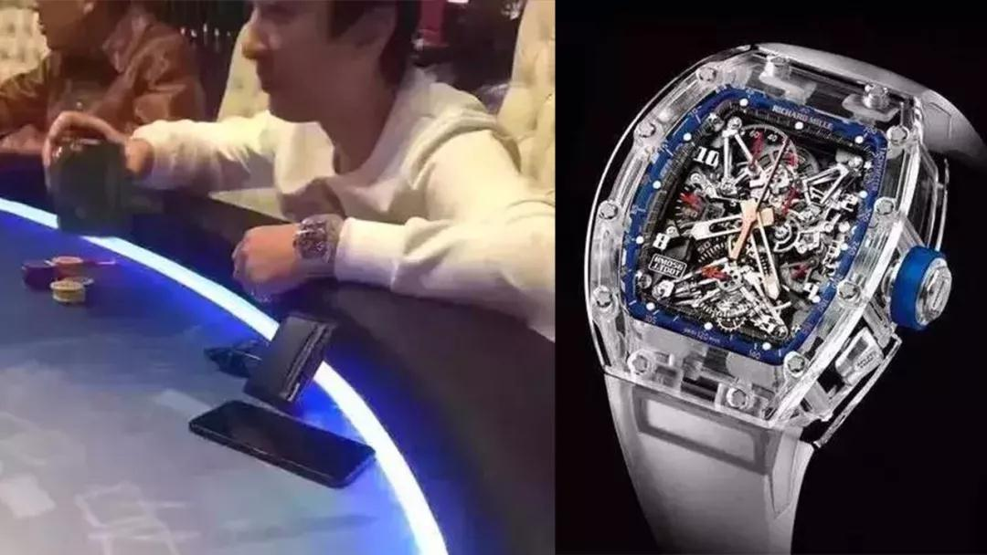 It is the first Richard Mille watch to sport a case cut and milled from solid blocks of sapphire.