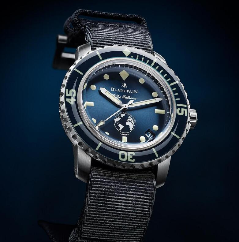 The funds of selling the watches will be donated to the marine protective projects.