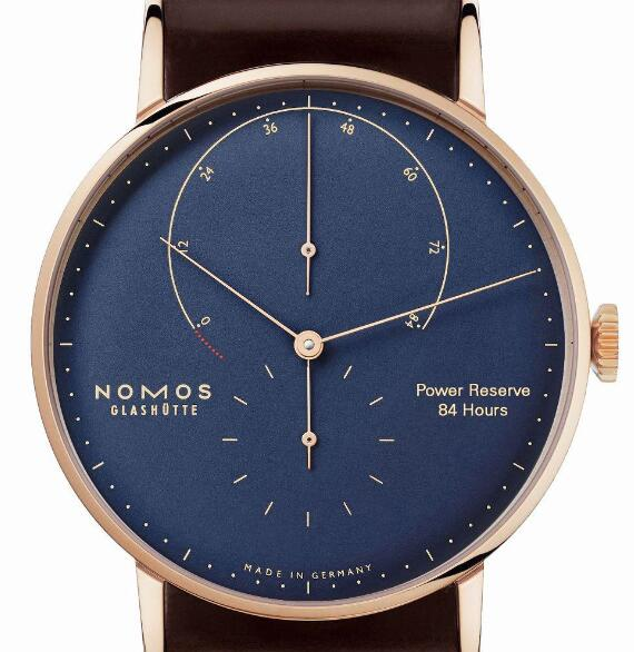 The integrated design of this Nomos is simple and understated.