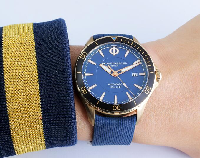 Swiss replication watches forever are harmonious with blue color.